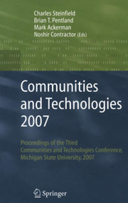 Steinfield, Charles - Communities and Technologies 2007, ebook