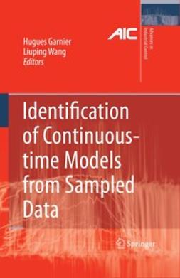 Garnier, Hugues - Identification of Continuous-time Models from Sampled Data, ebook