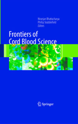 Stubblefield, Phillip - Frontiers of Cord Blood Science, e-bok