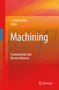 Davim, João Paulo - Machining, ebook