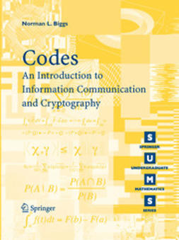 - Codes: An Introduction to Information Communication and Cryptography, ebook