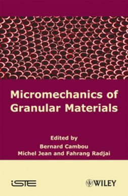 Cambou, Bernard - Micromechanics of Granular Materials, ebook