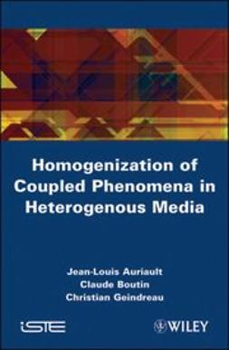 Auriault, Jean-Louis - Homogenization of Coupled Phenomena in Heterogenous Media, ebook