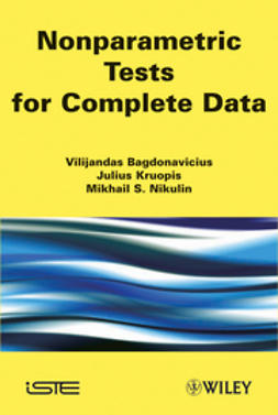 Bagdonavi?us, Vilijandas - Nonparametric Tests for Complete Data, ebook