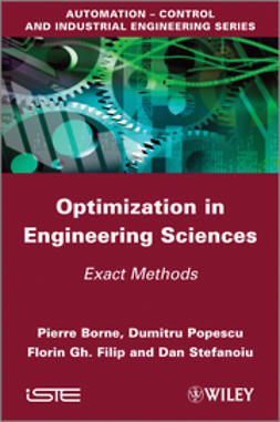 Borne, Pierre - Optimization in Engineering Sciences: Exact Methods, ebook