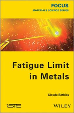 Bathias, Claude - Fatigue Limit in Metals, e-bok