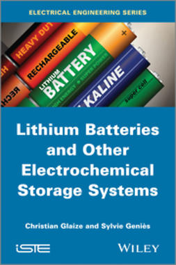Genies, Sylvie - Lithium Batteries and other Electrochemical Storage Systems, e-bok