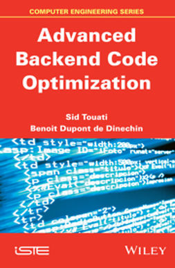 Dinechin, Benoit de - Advanced Backend Optimization, ebook
