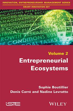 Boutillier, Sophie - Entrepreneurial Ecosystems, ebook