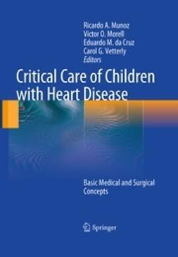 Munoz, Ricardo - Critical Care of Children with Heart Disease, e-kirja