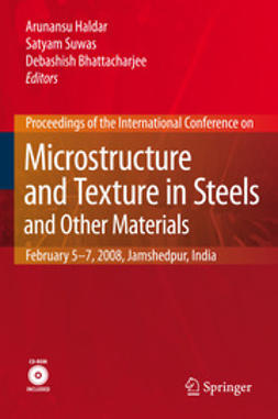 Haldar, Arunansu - Microstructure and Texture in Steels, ebook