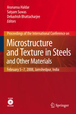Haldar, Arunansu - Microstructure and Texture in Steels, ebook