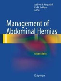 Kingsnorth, Andrew N. - Management of Abdominal Hernias, ebook