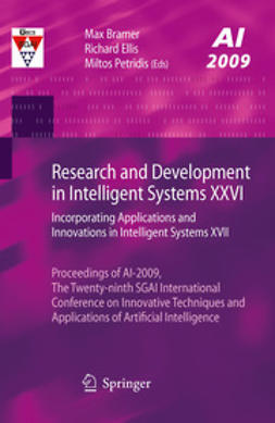 Bramer, Max - Research and Development in Intelligent Systems XXVI, e-kirja