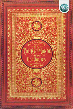 Verne, Jules - Around The World in 80 Days, e-bok