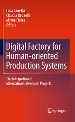 Canetta, Luca - Digital Factory for Human-oriented Production Systems, ebook