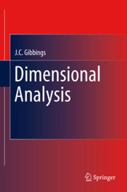 Gibbings, J.C. - Dimensional Analysis, ebook