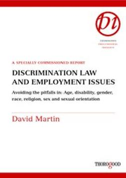 Martin, David - Discrimination Law and Employment Issues, ebook