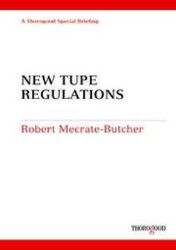 Butcher, Robert Mecrate - New TUPE Regulations, ebook