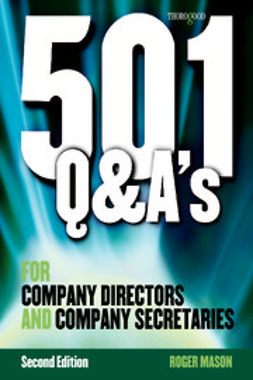 Mason, Roger - 501 Questions and Answers for Company Secretaries and Company Directors, e-kirja