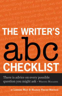 Mace, Lorraine - The Writer's ABC Checklist, e-bok
