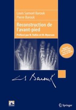 Barouk, Louis Samuel - Reconstruction de l'avant-pied, ebook