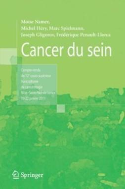 Namer, Moïse - Cancer du sein, ebook