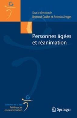 Guidet, Bertrand - Personnes âgées et réanimation, ebook