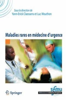 Claessens, Yann-Erick - Maladies rares en médecine d'urgence, ebook