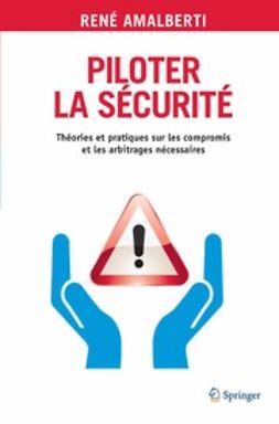 Amalberti, René - Piloter la sécurité, ebook