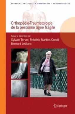Terver, Sylvain - Orthopédie-traumatologie de la personne âgée fragile, ebook