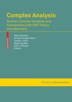 Ebenfelt, Peter - Complex Analysis, ebook