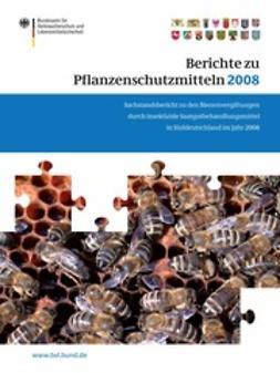- Berichte zu Pflanzenschutzmitteln 2008, ebook