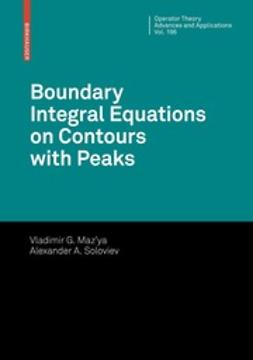 Shaposhnikova, Tatyana - Boundary Integral Equations on Contours with Peaks, ebook