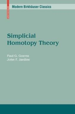 Goerss, Paul G. - Simplicial Homotopy Theory, ebook