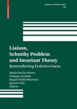 Alonso, María Emilia - Liaison, Schottky Problem and Invariant Theory, ebook