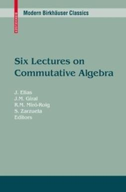 Elias, J. - Six Lectures on Commutative Algebra, ebook