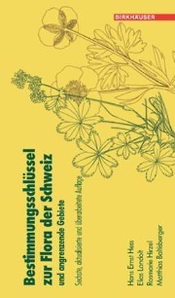 Hess, Hans Ernst - Bestimmungsschlüssel zur Flora der Schweiz und angrenzender Gebiete, e-bok