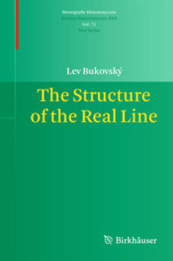 Bukovský, Lev - The Structure of the Real Line, ebook