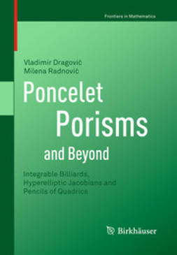 Dragović, Vladimir - Poncelet Porisms and Beyond, ebook