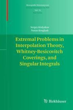 Kislyakov, Sergey - Extremal Problems in Interpolation Theory, Whitney-Besicovitch Coverings, and Singular Integrals, e-kirja
