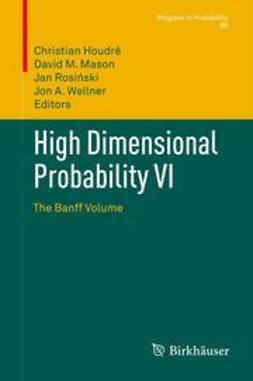 Houdré, Christian - High Dimensional Probability VI, ebook