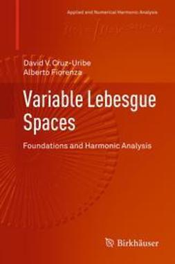 Cruz-Uribe, David V. - Variable Lebesgue Spaces, ebook