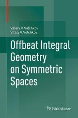 Volchkov, Valery V. - Offbeat Integral Geometry on Symmetric Spaces, ebook