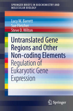 Barrett, Lucy W. - Untranslated Gene Regions and Other Non-coding Elements, e-bok