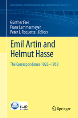 Frei, Günther - Emil Artin and Helmut Hasse, ebook