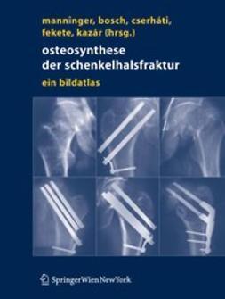 Bosch, Ulrich - Osteosynthese der Schenkelhalsfraktur, ebook