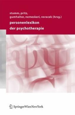Gumhalter, Paul - Personenlexikon der Psychotherapie, ebook