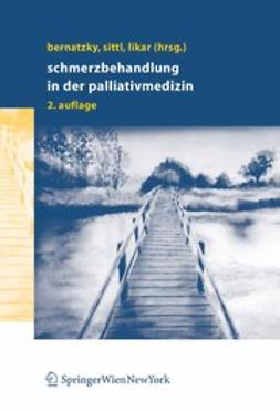 Bernatzky, Günther - Schmerzbehandlung in der Palliativmedizin, e-kirja