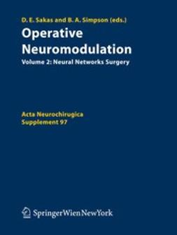 Sakas, Damianos E. - Operative Neuromodulation, ebook